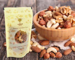 Nüsse Verpackung
