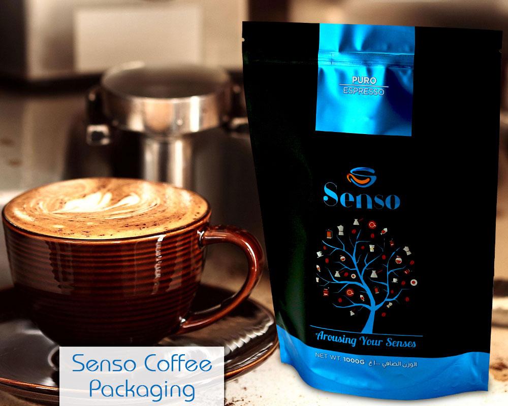 Folie Kaffee Verpackung