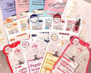 Kosmetische Blattmaskenverpackung
